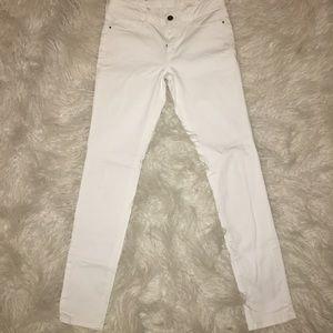 White treasure & bond jeans